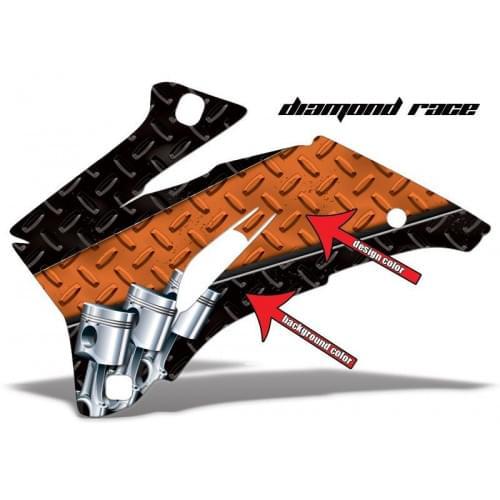 Комплект графики AMR Racing Diamond Race (ОUTLANDER MAX G1)