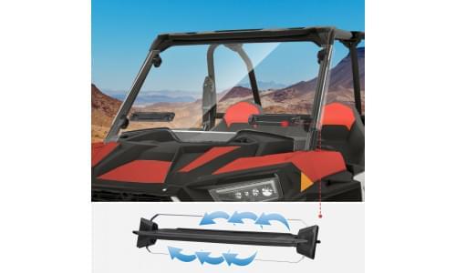 Лобовое стекло быстросъемное Polaris RZR XP Turbo /RZR 1000/900S 2019+ 2884911